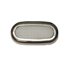 Courtesy/Step Light With Stainless Steel Trim  - Splashproof