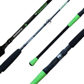 Kaos Green 7ft Spin Rod 10-20lb