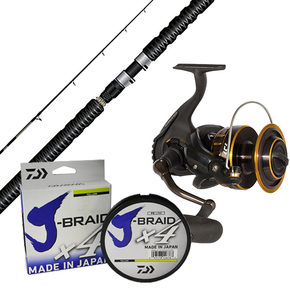 BG 5000/ CATCH PRO 7'6 Combo w/braid