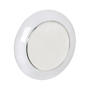 Low Profile 75mm Surface Mt LED Dome Light 9-33v w/Touch Dim Switch