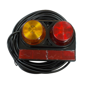 12 Volt Submersible Rear Lamp Tail Light Kit With 8M Wiring Harness