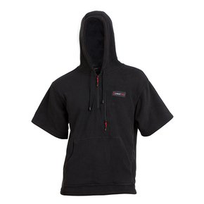 Rogue Hooded Fleece T-shirt - Black