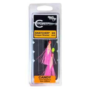 Snapper Whacker Flasher Rig Pack-2 x C Point 5/0 Hook Rig