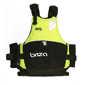BRIZA Hi-Viz Adult SUP / Kayak / Dinghy Sailing Vest - XL