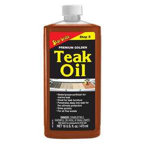 Premium Golden Teak Oil - 473ml