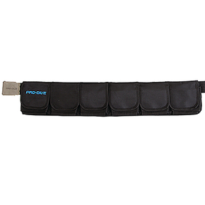 Comfa Belt - 6 Pocket Dive weight Belt - Size Large