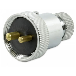 2742 Weatherproof 2 pin Plug Male - 12V - 22A