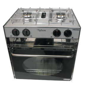 Nelson SS 2 Burner Oven with Grill