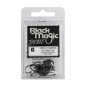 KS Series Black Fishing Hooks-Medium Pack