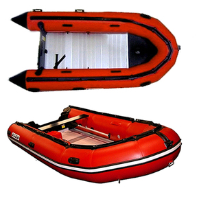 Inflatable Boat 4.20m - Alloy Floor w/Inflatable Keel - Military Style