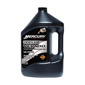25W-50 4 Stroke Synthetic Outboard Racing Oil- 3.78Ltr