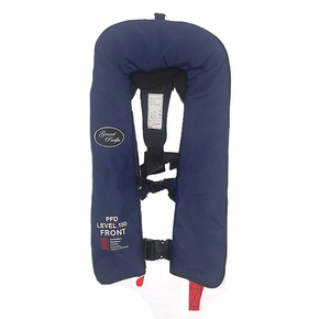 Inflatable Lifejacket Adult Manual 150N - Navy