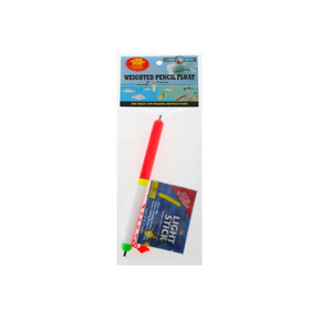 12cm Weighted pencil Fishing Line Float w/Light Stick