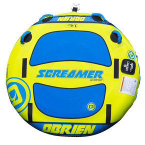 Screamer Ski Biscuit Towable Watertoy - 60""