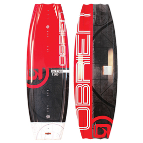System 140 Wakeboard With Clutch Bindings (sz11-14)
