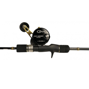 "JG2000 Reel / KENSAI SLOW PITCH 6'3"" OHEAD Rod 80-150G Combo"