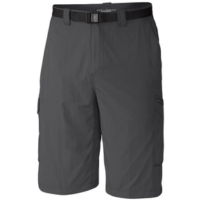 Mens Silver Ridge Cargo Shorts - Grill
