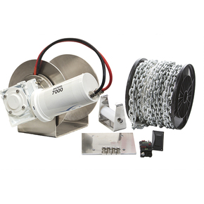 Pro 7000 Drum Anchor Winch Package (3 only)