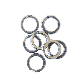 Split Ring Size #9 90kg 10-Pack