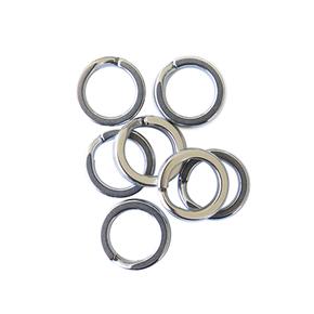 Split Ring Size #10 136kg 9-Pack