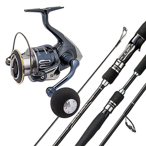 Twin Power C3000XD HG/ Dialuna 7'6 PE 8-20lb Combo