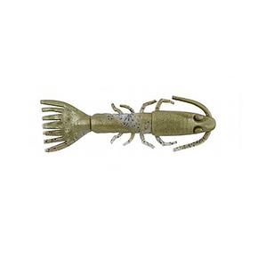 """Gulp Softbait 7"""" King Shrimp - Banana Prawn 4-pk"""
