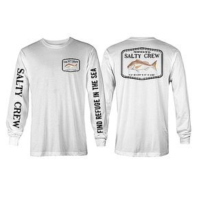Snapper Long Sleeve T-shirt White
