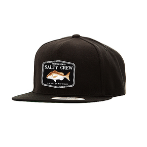 Snapper Mount 5-Panel Cap Black OSFA