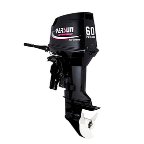 Outboard 60hp Long Shaft - 2 Stroke - Electric w/Power Trim & Tilt