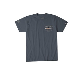 Bruce Short Sleeve T-shirt Cool Grey