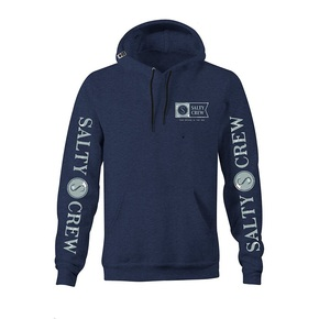 Navigator Hood Fleece Navy Heather