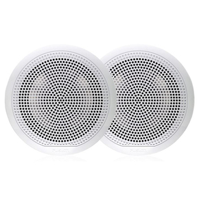 "EL-FL651W White 6.5"" Full Range Marine Speakers -"