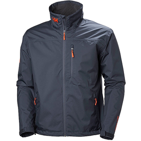 Mens Crew Sailing Jacket - Graphite Black