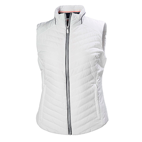 Womens Insulator Crew Vest - White