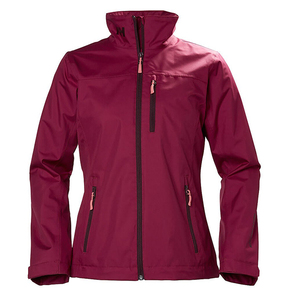 Womens Crew Midlayer Jacket - Plum