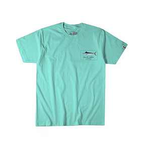 Blue Rogers Short Sleeve T-shirt Sea Foam
