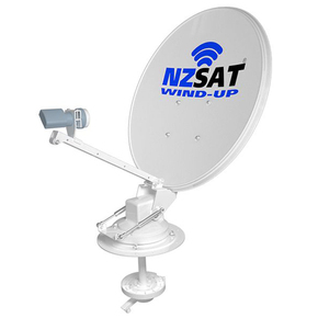 NZSAT Manual Wind Up RV Satellite Dish