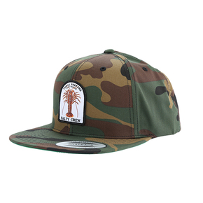 Buggin Out 6 Panel Cap - Camo - OSFA