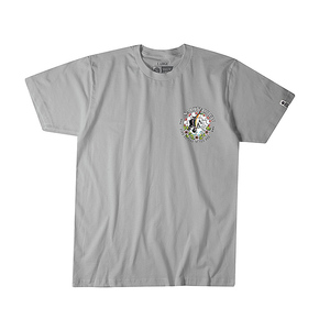 Stop Teasing Short Sleeve Tee Shirt - Grey