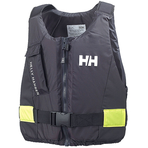 Rider Buoyancy Vest - Ebony / Fluoro