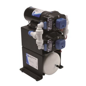 Jabsco Water Pressure Pump with Accumulator Tank - 34Lpm