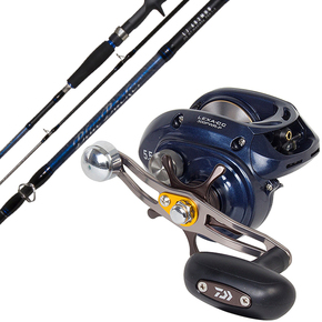 Lexa 300-CC Reel / Blue Backer LJ 602MHB Rod