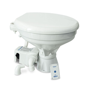 Premium 12v Silent Freshwater Electric toilet - Regular Bowl (Comfort)
