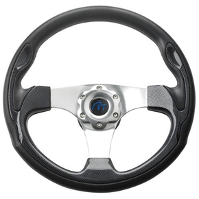 Delta Sport Steering Wheel w/ Carbon Finish