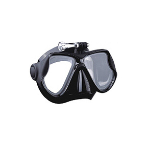 CRESSI DIVE MASK ONLY - ADULT BLACK SILICONE