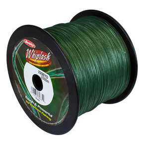 Whiplash Dark Green Braid 200lb x 2000m