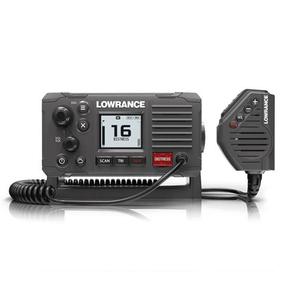 LINK-6S BLACK VHF FIXED IPX7 WATERPROOF W/GPS BUILT IN