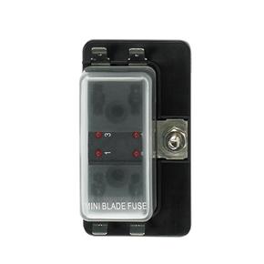 4-WAY W/LED FUSE HOLDER BOX MINI BLADE TYPE