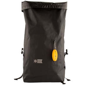 Covert Roll Top Bag - Black