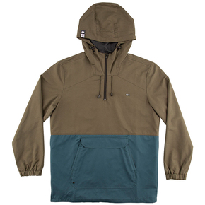 Deckhand Hooded Jacket - Brown